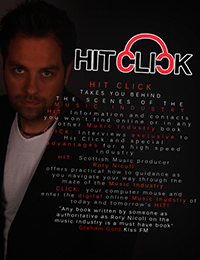 Hit Click book, by Rory Nicoll and Marco Palmer Back