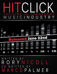 Hit Click book, by Rory Nicoll and Marco Palmer Front